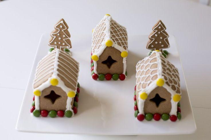 Gingerbread house #diy #mini #bake #recipe #glutenfree #Christmas