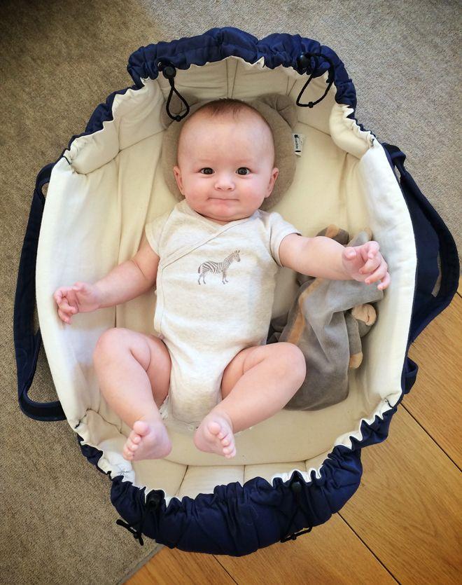 Najell - SleepCarrier Swedish Baby Carry Cot - Harness. Blogg - Glammom