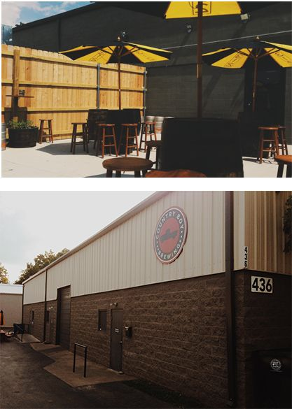 With names like Shotgun Wedding and Cougar Bait, and flavor infusions such as jalapeno and local pumpkins, how can you resist trying out Country Boy Brewing.  No food served, but you can bring your own, have it delivered it, or grab something from a nearby food truck.