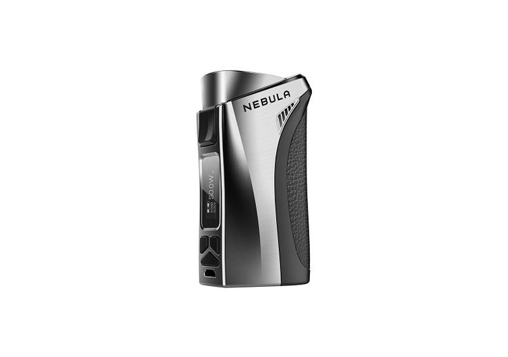 "The Nebula is a complete box mod, with TC,  Smart VW and CCW/CCT functions and a maximum output of 100W.  it can be used with a single 26650/18650 battery. With its OMNI chipset, it is very easy to navigate through the menu.    Specs :      	Size : 87 x 489 x 32mm  	Weight : 152g  	Temperature range in TC mode : 100°C - 315°C/280°F - 600°F  	Output wattage : 5W to 80W / 5W to 100W  	Output voltage : 0 - 8.5V  	Resistance range : 0.05 - 5ohm  	Zinc alloy and aluminum alloy design  	0.69"" OLED…"