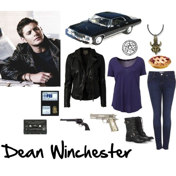Dean Winchester inspired outfit