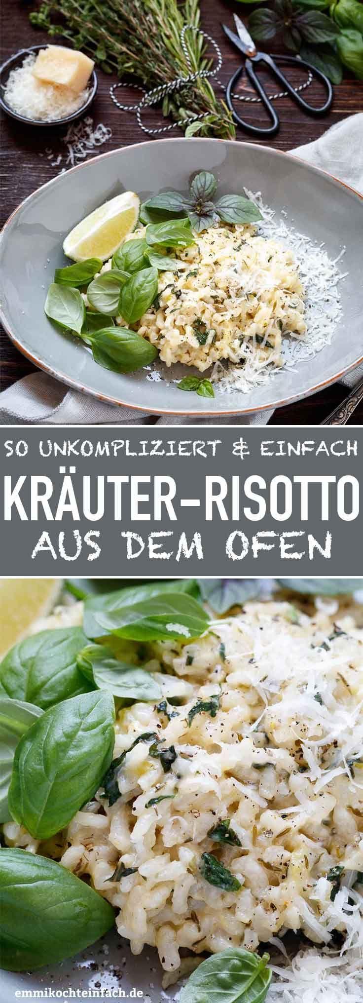 Kräuter-Risotto aus dem Ofen