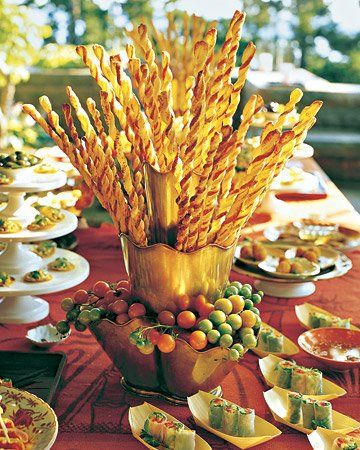 Parmesan Puff Pastry Straws Recipe Parmesan