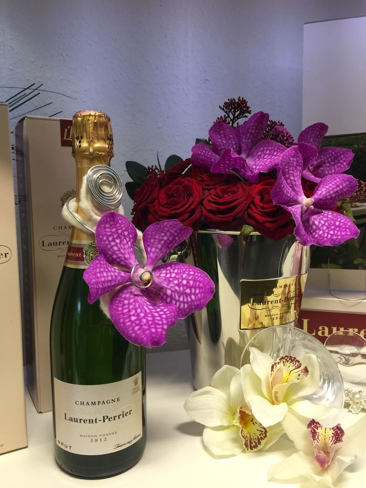 Champagne and luxury flowers!! Nothing quite like it.