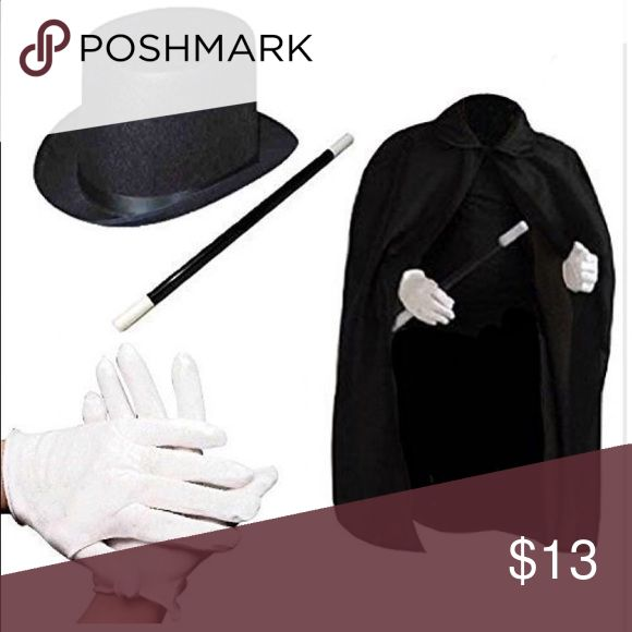 Kids Halloween magician costume Ages 6 and up Costumes Halloween