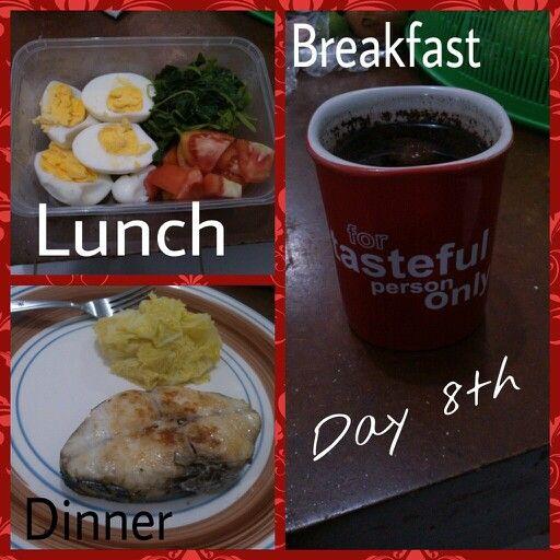 Diet Mayo day 8