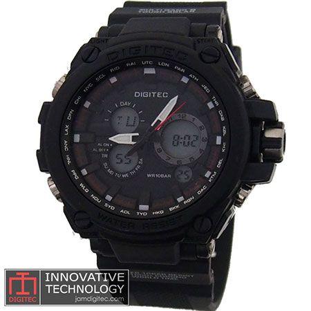 jam tangan digitec DG-2069T hitam