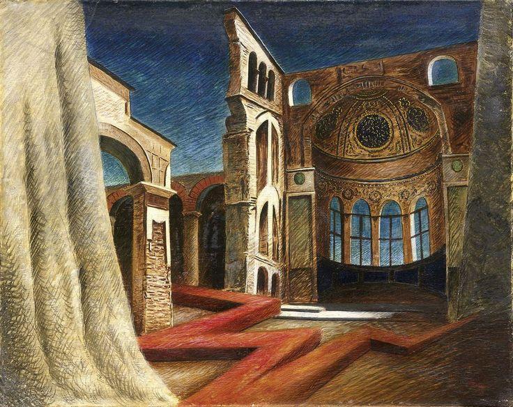 Thunderstruck :Alberto Savinio (Italian, 1891-1952)