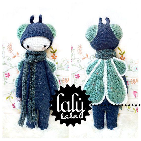 Crochet Pattern Doll BUZZ the house fly PDF by lalylala on Etsy, €5.50