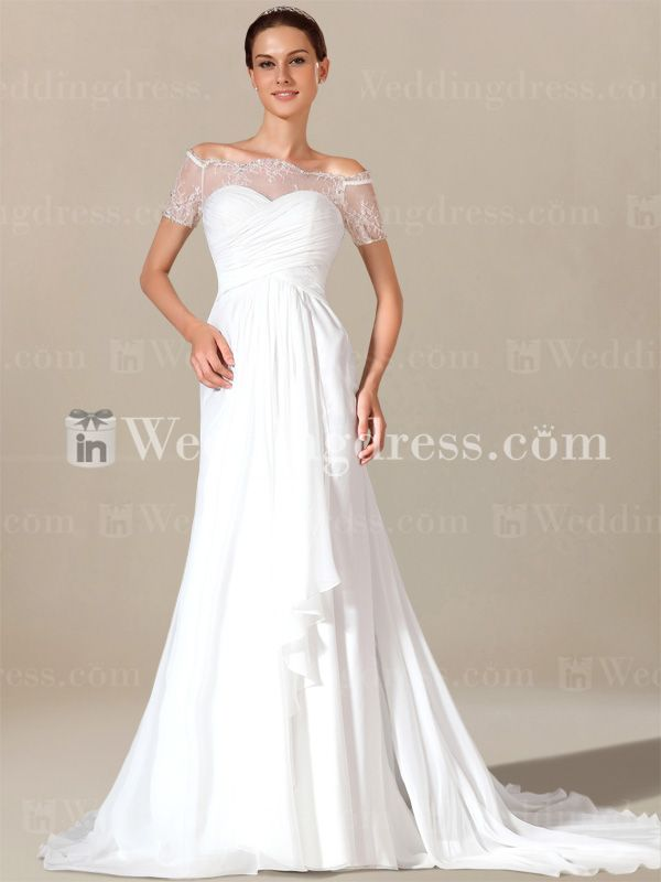 Discover the latest wedding dresses with sleeves in the perfect quality here. Free shipping!
