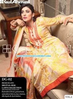 GUL AHMED LAWN Vol 2 Dresses 2013 For Women