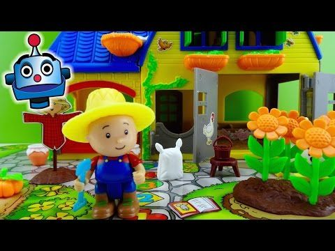 Caillou La Granja The Farm - Juguetes de Caillou - YouTube