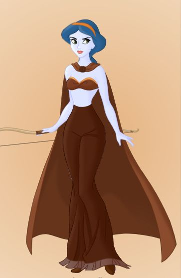 Star Wars Disney Princesses! Aayla Secura.