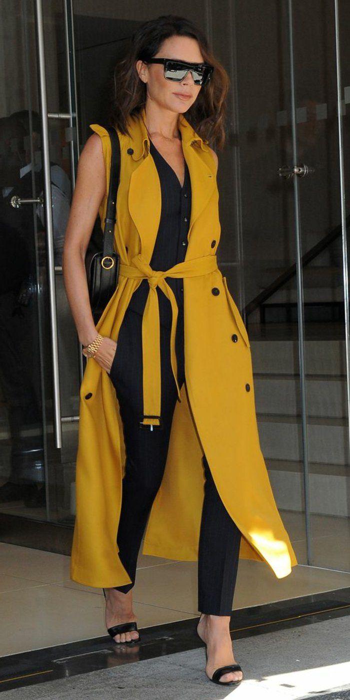 17 meilleures id es propos de robes de moutarde jaune sur pinterest robes portefeuille. Black Bedroom Furniture Sets. Home Design Ideas