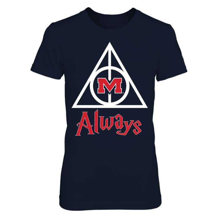 Ole Miss Rebels - Deathly Hallows T-Shirt, Ole Miss Rebels Official Apparel - this licensed gear is the perfect clothing for fans. Makes a fun gift!  The Ole Miss Rebels Collection, OFFICIAL MERCHANDISE  Available Products:          District Women's Premium T-Shirt - $29.95 District Men's Premium T-Shirt - $27.95 Next Level Women's Premium Racerback Tank - $29.95 Gildan Unisex Pullover Hoodie - $44.95 Gildan Long-Sleeve T-Shirt - $33.95 Gildan Fleece Crew - $39.95       . Buy now…