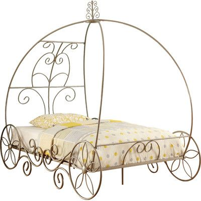 25 best ideas about cinderella carriage bed on pinterest