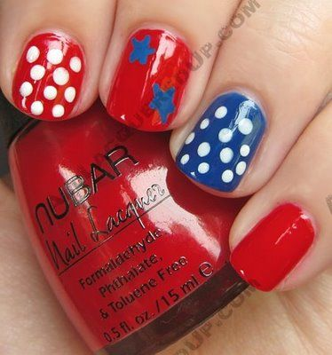 July Nails, Nails Design, Manicures Nails, Red White Blue, Nail Art Designs, Gel Nails, 4Th Of July, Nails Art Design, Blue Nails