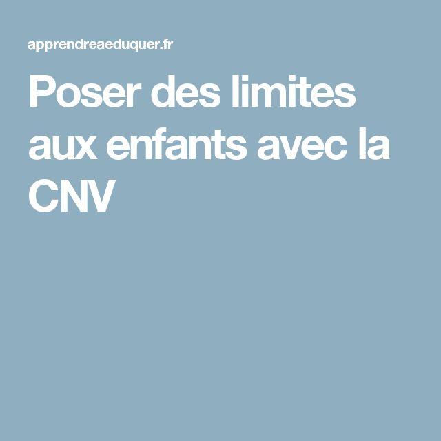 Poser des limites aux enfants avec la CNV