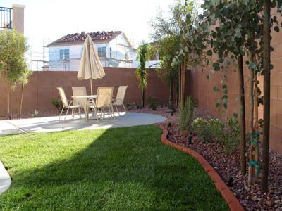 backyard landscaping landscaping ideas backyard ideas back yard brick