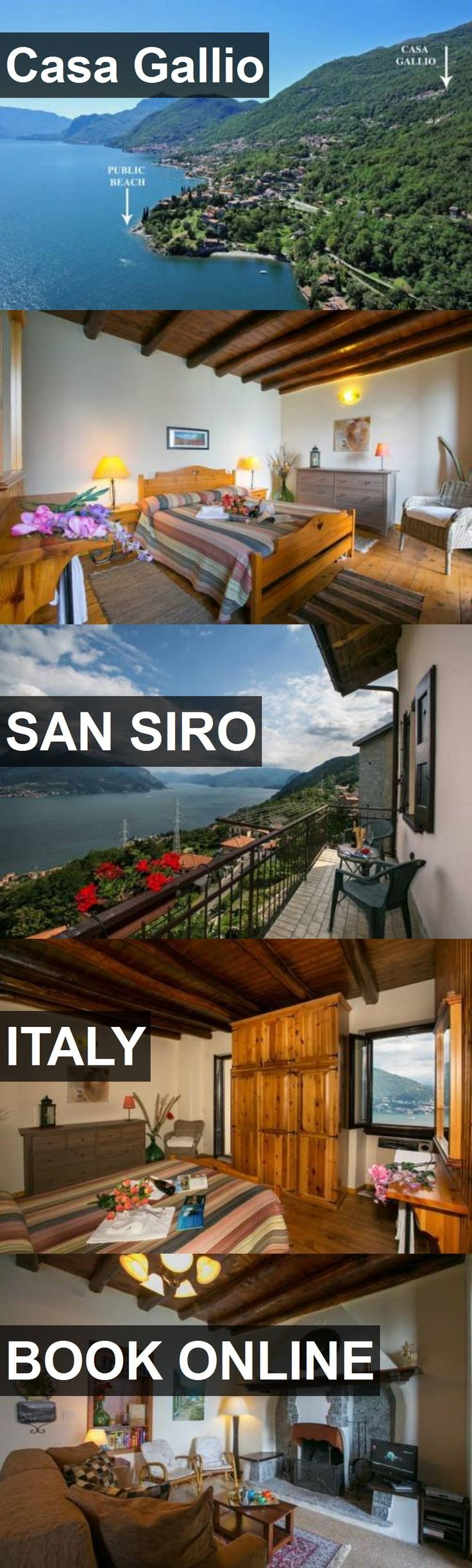 Hotel Casa Gallio in San Siro, Italy. For more information, photos, reviews and best prices please follow the link. #Italy #SanSiro #travel #vacation #hotel