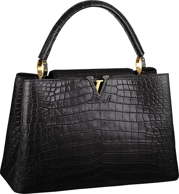 Louis Vuitton Capucines MM In Luxurious Crocodile Skin $48,000