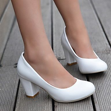 Women's Chunky Heel Round Toe  Pumps/Heels Shoes (More Colors) – AUD $ 23.60