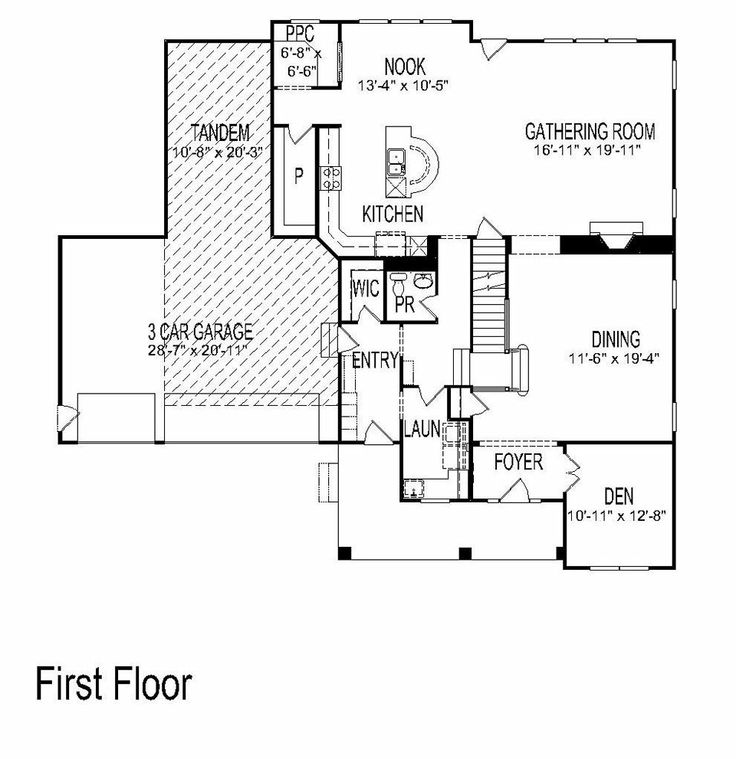 Pulte Home Pontiac Floor Plan For Our Next Home