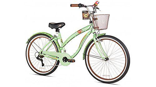 Margaritaville Coast Is Clear Women's Beach Cruiser Bike, 26-Inch http://coolbike.us/product/margaritaville-coast-is-clear-womens-beach-cruiser-bike-26-inch/