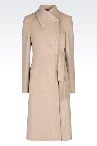 Cappotto Monopetto Donna Armani Collezioni - Armani Collezioni Official Online Store