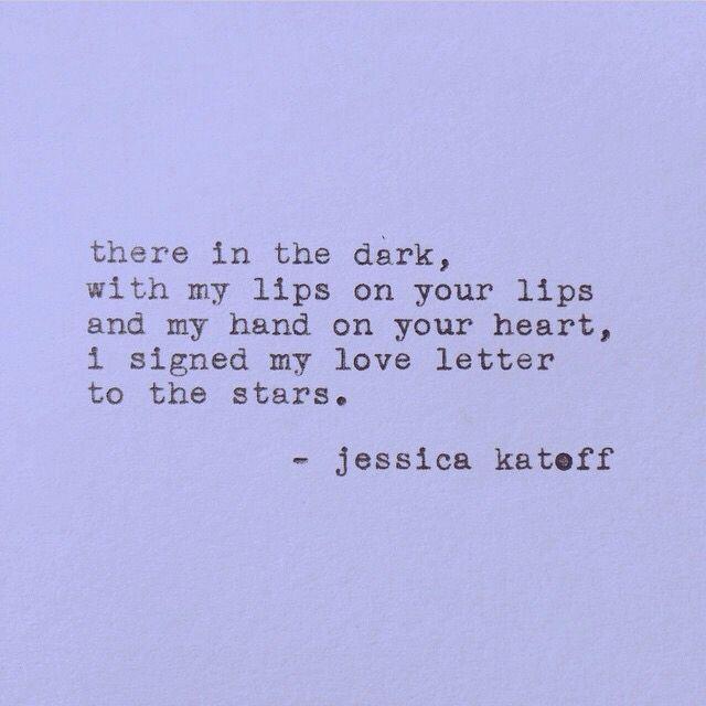 she has the best short poems #jessicakatoff