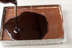 Рецепт: Шоколадная зеркальная глазурь Schokoladen mirror glaze Chocolate
