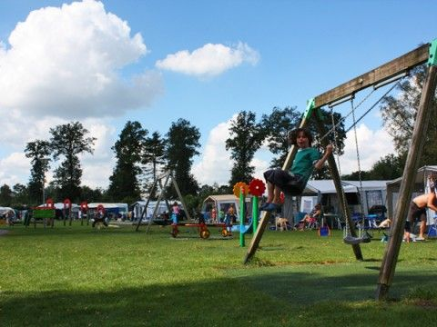 Camping 'De Kleine Wolf', 5 sterren camping in Overijssel