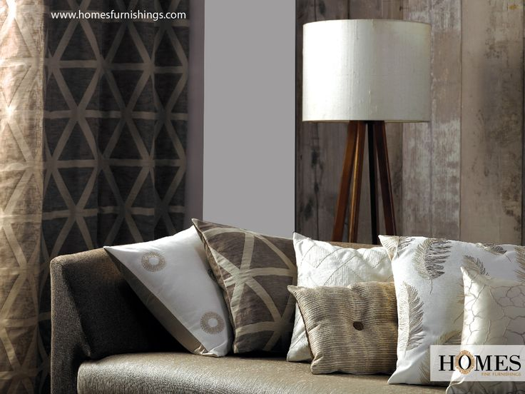 Add an expression of Simplicity and make your #LivingRoom stand class apart with #HomesFurnishings. Explore more @ www.homesfurnishings.com #Cushions #HomeDecor #HomeFabrics #Furnishings #Curtains #Upholstery