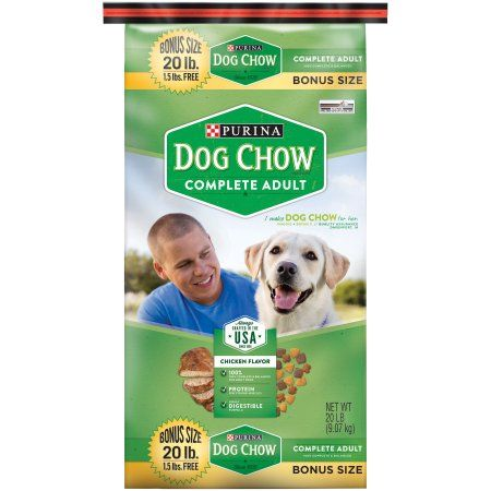 Purina Dog Chow Complete Adult Dog Food 20 lb. Bonus Bag Image 7 of 7