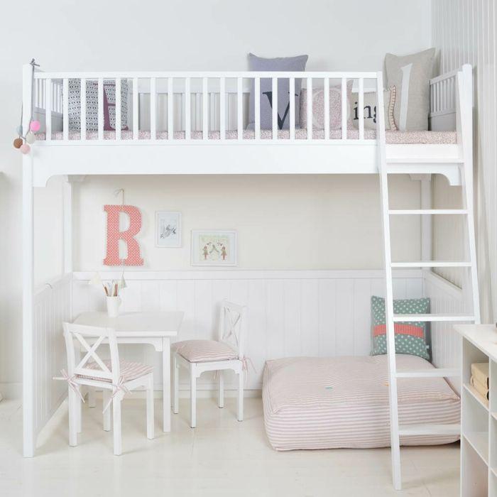 Kinderzimmer Skandinavisch Einrichten Oliver Furniture Umbauset Liegekissen  Stühle Tisch