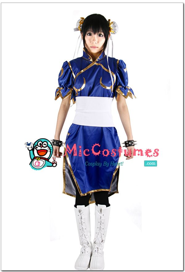 Street Fighter Chun Li Cosplay Costume For Sale $48