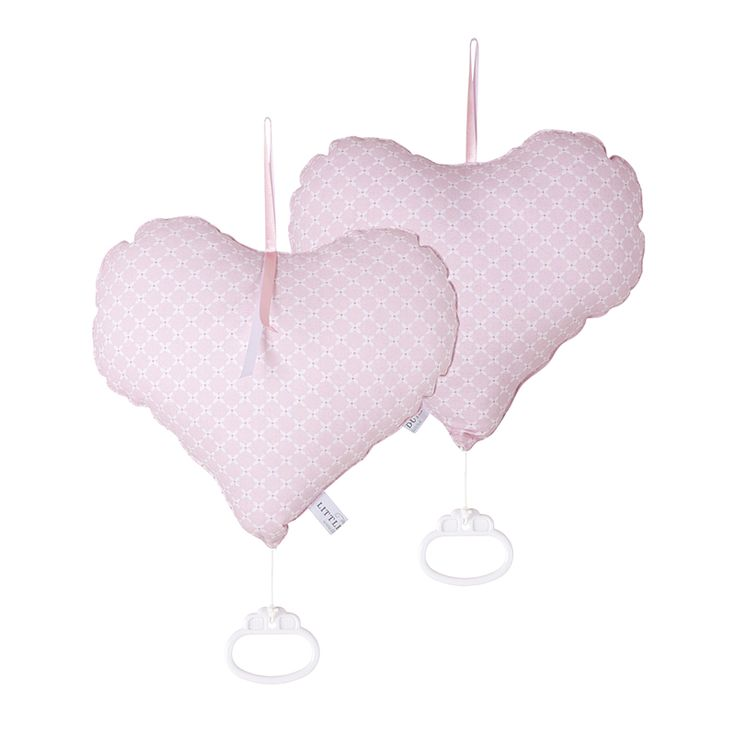 Mooie kamer, mooi muziekje, compleet in stijl muziekdoos sweet pink. Ook in sweet mint