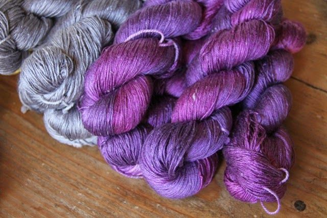 SeaSilk Handdyed by Spinnwebstube