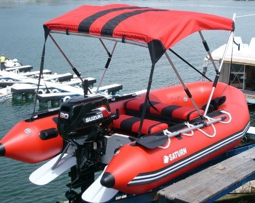 Saturn 12 Sd365 Inflatable Sport Boat With High Pressure