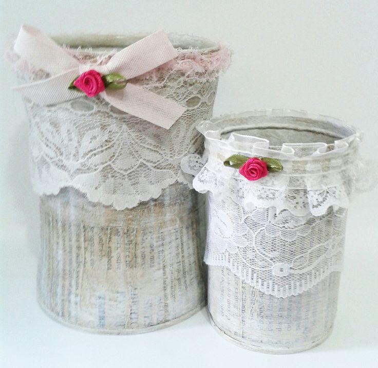 Latinhas de alumínio recicladas Latas, rendas, reciclagem
