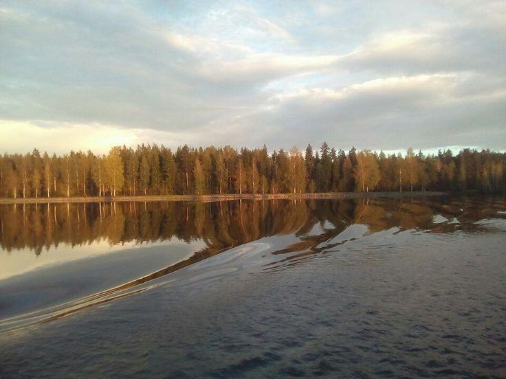 Saimaan kanavalla 2.9.2016 Saimaa canal