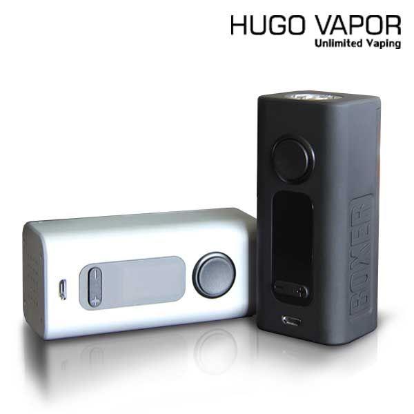 Hugo Vapor Boxer V2.0 188W TC Box Electronic Mod Vape Cigarette Wholesale