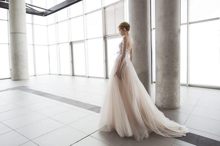 Mira Zwilinger 2016 wedding dress stardust collection | fabmood.com: