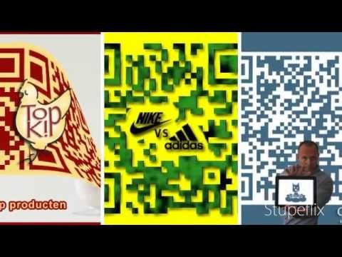 video with custom QR codes by clouddog.nl