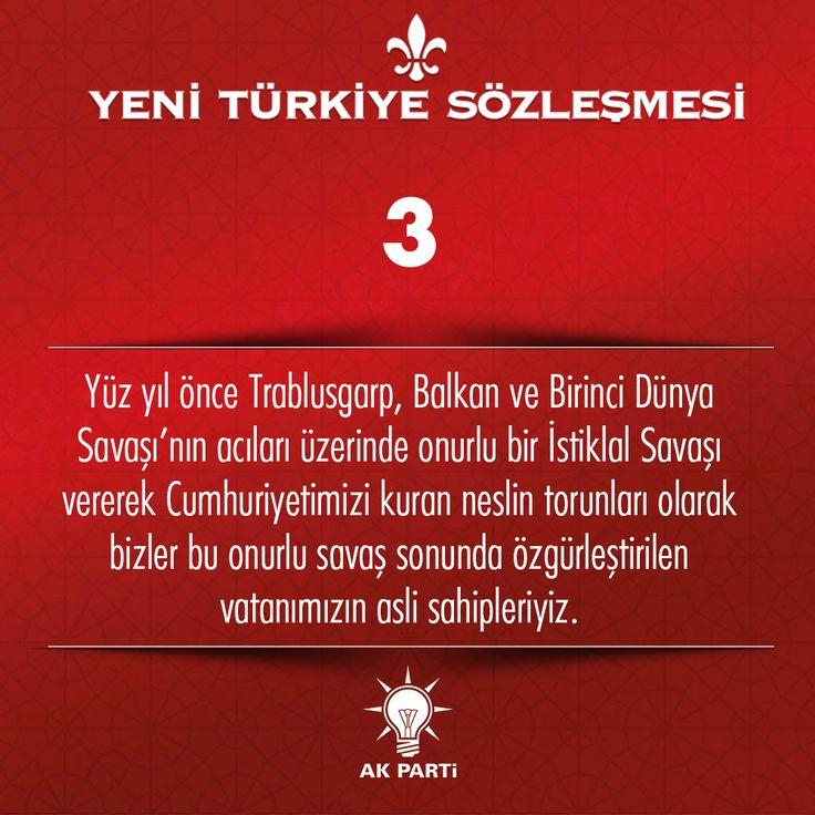 3.Madde, #YeniTürkiyeSözleşmesi
