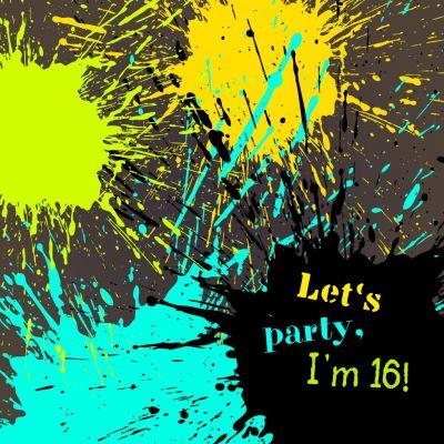 85 besten sweet sixteen party - ideen für jugendliche. bilder auf, Einladungsentwurf