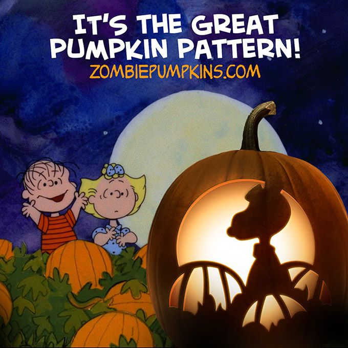 9 best 2016 pumpkin carving patterns images on pinterest for Charlie brown pumpkin template