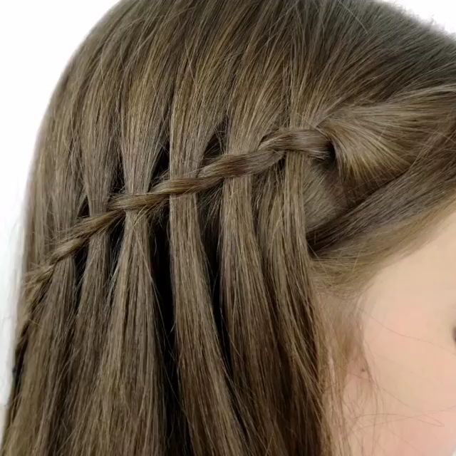 Tips on how to Do a Waterfall Braid? DIY