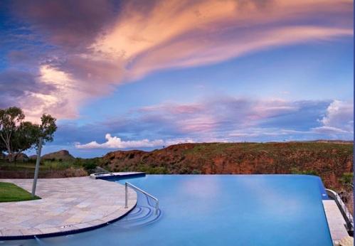 Infinity Pool - Lake Argyle, Kununurra, Western Australia