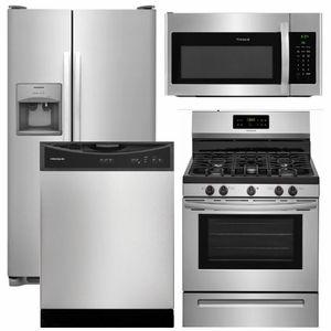package 14 frigidaire appliance package 4 piece appliance rh pinterest com